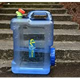 Benbroo Wasserkanister, 5 l/7,5 l/12 l/18 l/22 l, für den Außenbereich, für das Fahrzeug, Camping, Catering, in Lebensmittelqualität