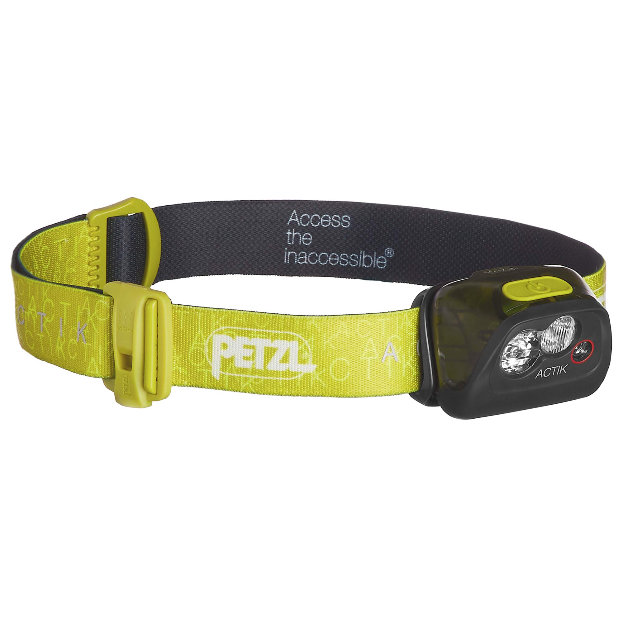 Petzl - ACTIK Headlamp, 300 Lumens, Active Lighting,Green