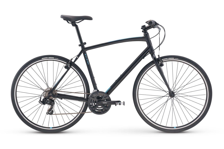 Raleigh Bikes Cadent 1 Fitness Hybrid Bike 15'' Frame, Black by Raleigh Bikes (Image #1)