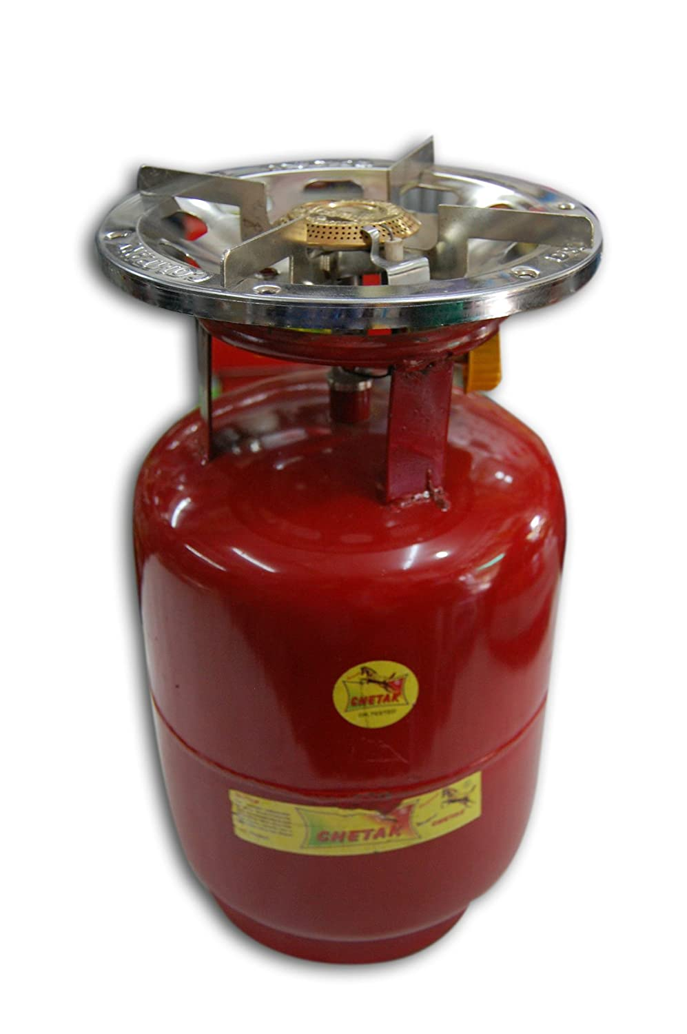 Buy Shanta Trader 23168123 Portable LPG Gas Cylinder with Single ... for Gas Petromax  104xkb