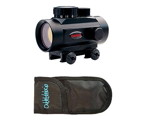 Pack Visor Gamo Quick Shot BZ-30. Punto rojo + Funda ...
