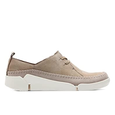 53519754124 Clarks Tri Angel Nubuck Shoes In Taupe Wide Fit Size 3  Amazon.co.uk  Shoes    Bags