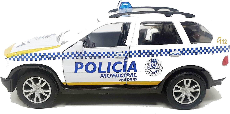PLAYJOCS GT-3930 COCHE POLICIA MUNICIPAL MADRID: Amazon.es: Juguetes y juegos