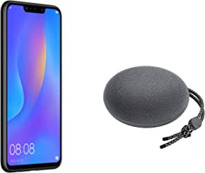 "Huawei PSmart+ (Nero) più esclusivo speaker Bluetooth, Telefono con 64 GB, Display 6.3"" Full HD, Processore Octa Core dinamico con Intelligenza Artificiale"