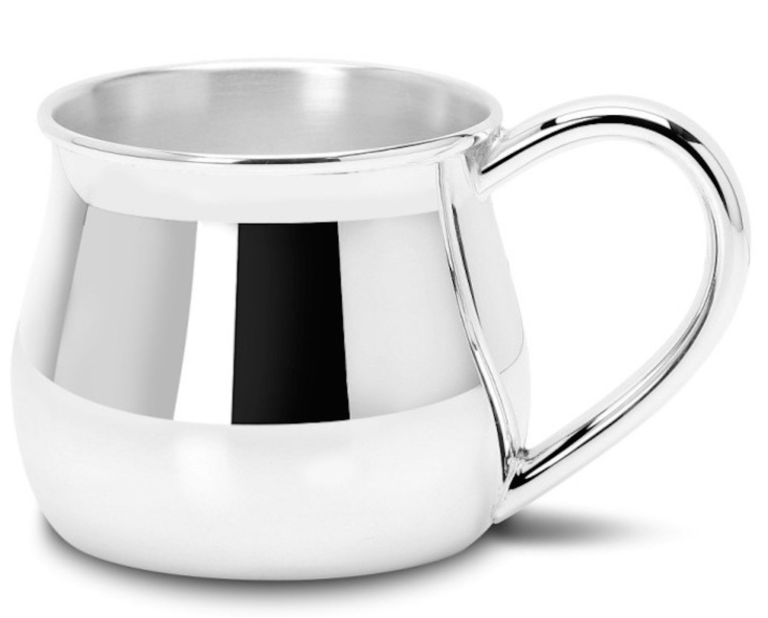 Krysaliis Sterling Silver Traditional Bulge 5 Ounce Plain Cup