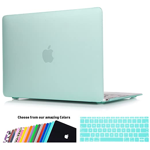 184 opinioni per Custodia MacBook 12 Retina Case- iNeseon 2 in 1 Plastica Cover Rigida Duro Caso,