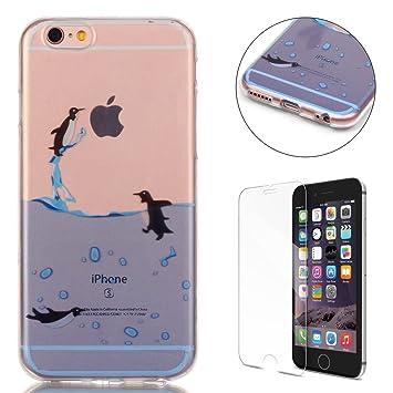 Compatible For iPhone 6/6S 4.7 Inch Silicone Gel Funda Silicona Carcasa Suave TPU Protectora Cubiertas Cubierta De La Caja De Silicona Galvanoplastia ...