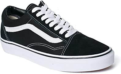Vans Old Skool Chaussures unisexes pour adulte - Noir - Noir (noir/blanc),  39 EU EU