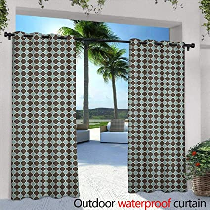 Amazon Com Loveeo Abstract Outdoor Window Curtains Asian