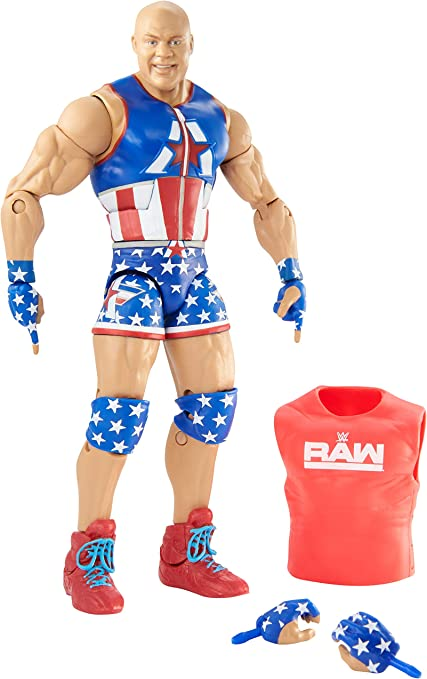 Kurt Angle WWE Elite 66 Mattel Toy Wrestling Action Figure