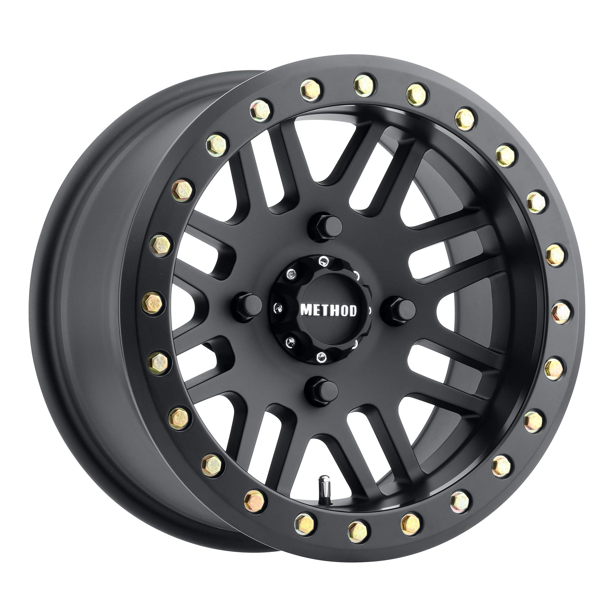 "Method Race Wheels 406 UTV Beadlock Matte Black 14x8"" 4x156"", 2mm offset 4.3"" Backspace, MR40648046544B"