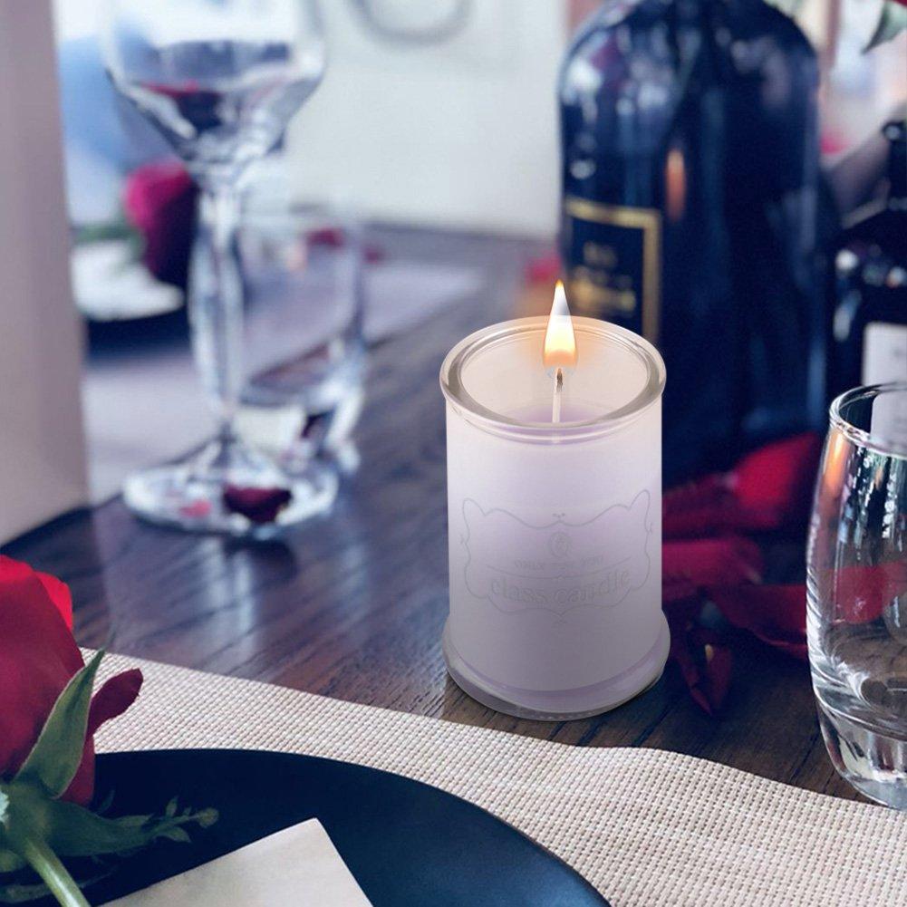 Kerze Glas Set, WZOED Duftkerzen für Home Duft Kerze Geschenke ...