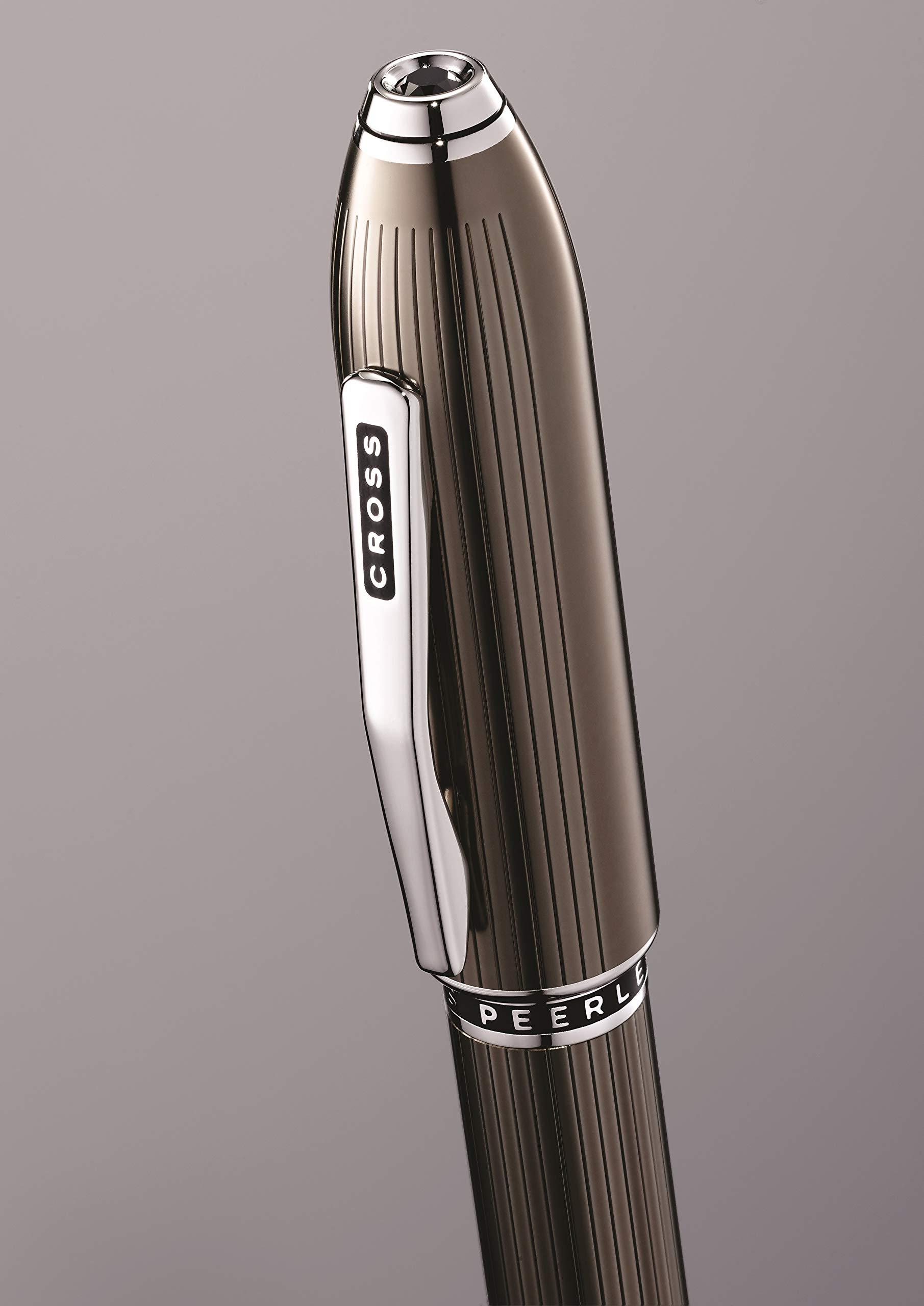 Cross Peerless Translucent Titanium Gray Selectip Rollerball Pen by Cross (Image #5)