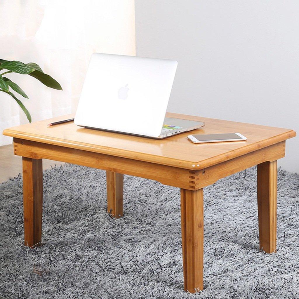 BOBE SHOP-New- Scrittorio del computer piegante di Simple Simple Small moderno, piccola scrivania per il letto e sofà, scrittorio portatile, tavolino da salotto di bambù ( dimensioni : 60*40*25cm )