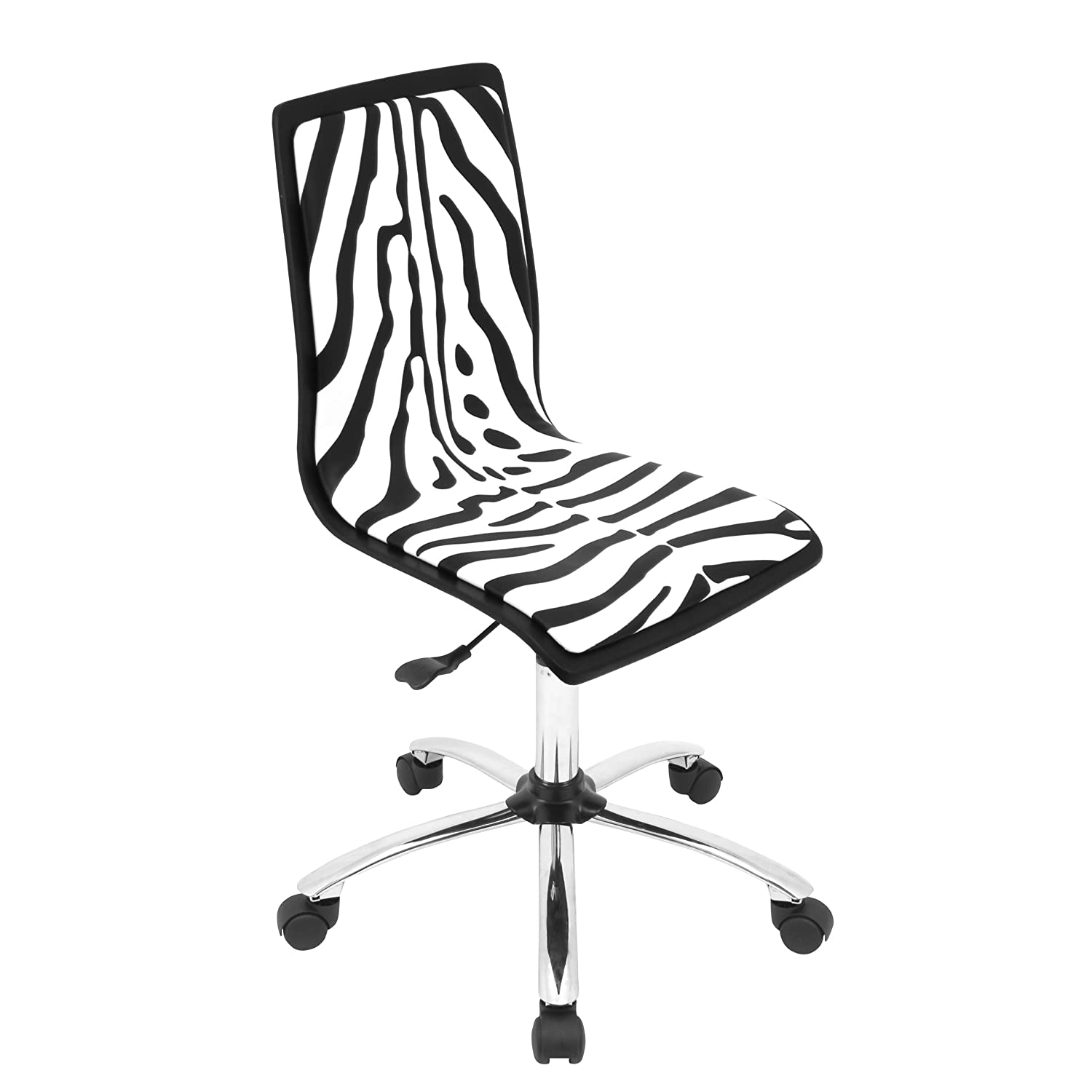 Amazon Printed Zebra puter Chair Kitchen & Dining