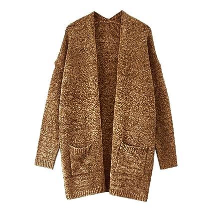 Niña otoño Invierno fashion abrigo,Sonnena ❤ Cárdigan de color sólido frente invierno abierto