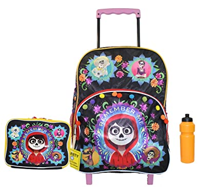 NEW COCO Remember Me Rolling Backpack with Lunch case