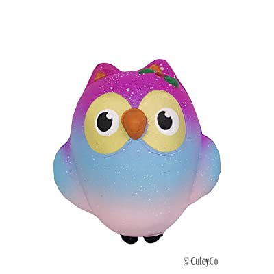 CuteyCo Squishy Toys – Owl Kawaii Squishies for Play and Stress Relief …: Toys & Games