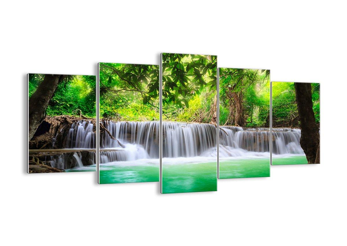 Bild auf Glas - Glasbilder - fünf Teile - Breite  160cm, Höhe  85cm - Bildnummer 2502 - fünfteilig - mehrteilig - zum Aufhängen bereit - Bilder - Kunstdruck - GEA160x85-2502