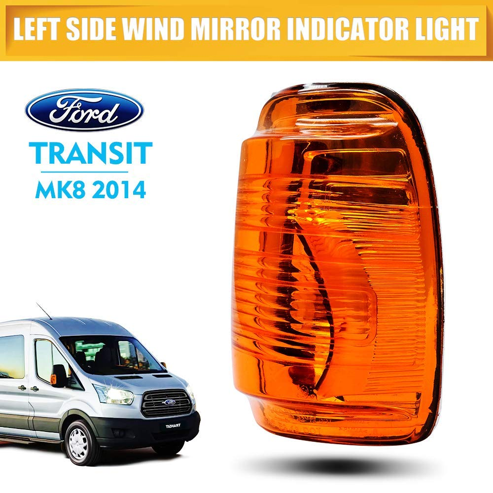 HugeAuto Clignotant pour r/étroviseur gauche pour Transit MK8 2014 c/ôt/é droit