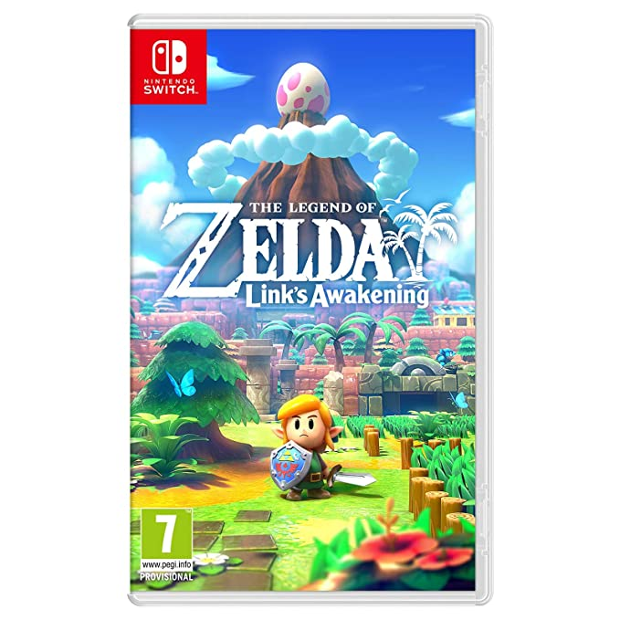 Legend of Zelda Link's Awakening - Nintendo Switch Standard Edition [Importación inglesa]