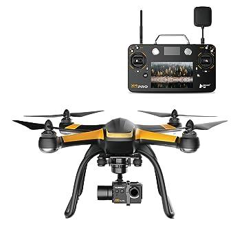 Hubsan H109S X4 Pro FPV Drone Profesional GPS cámara HD 1080P 3 ...