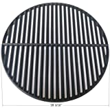 Hongso PCI991 Cast Iron Cooking Grid Grate Replacement for Large Big Green Egg Vision Grill VGKSS-CC2 B-11N1A1-Y2A Gas Grill 18 3/16 Inch Diameter