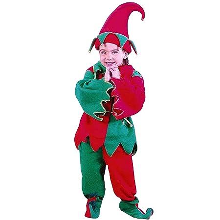 6 piezas del niño traje de duende de la Navidad - Tamaño 24 ...