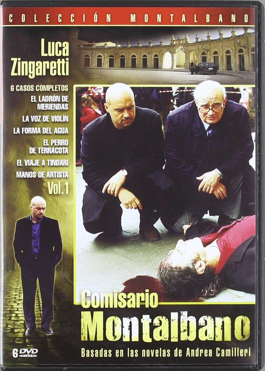 Comisario Montalbano - Volumen 1 [DVD]: Amazon.es: Luca Zingaretti, Cesare Bocci, Peppino Mazzotta, Angelo Russ, Davide Lo Verde, Marcello Perracchio, ...