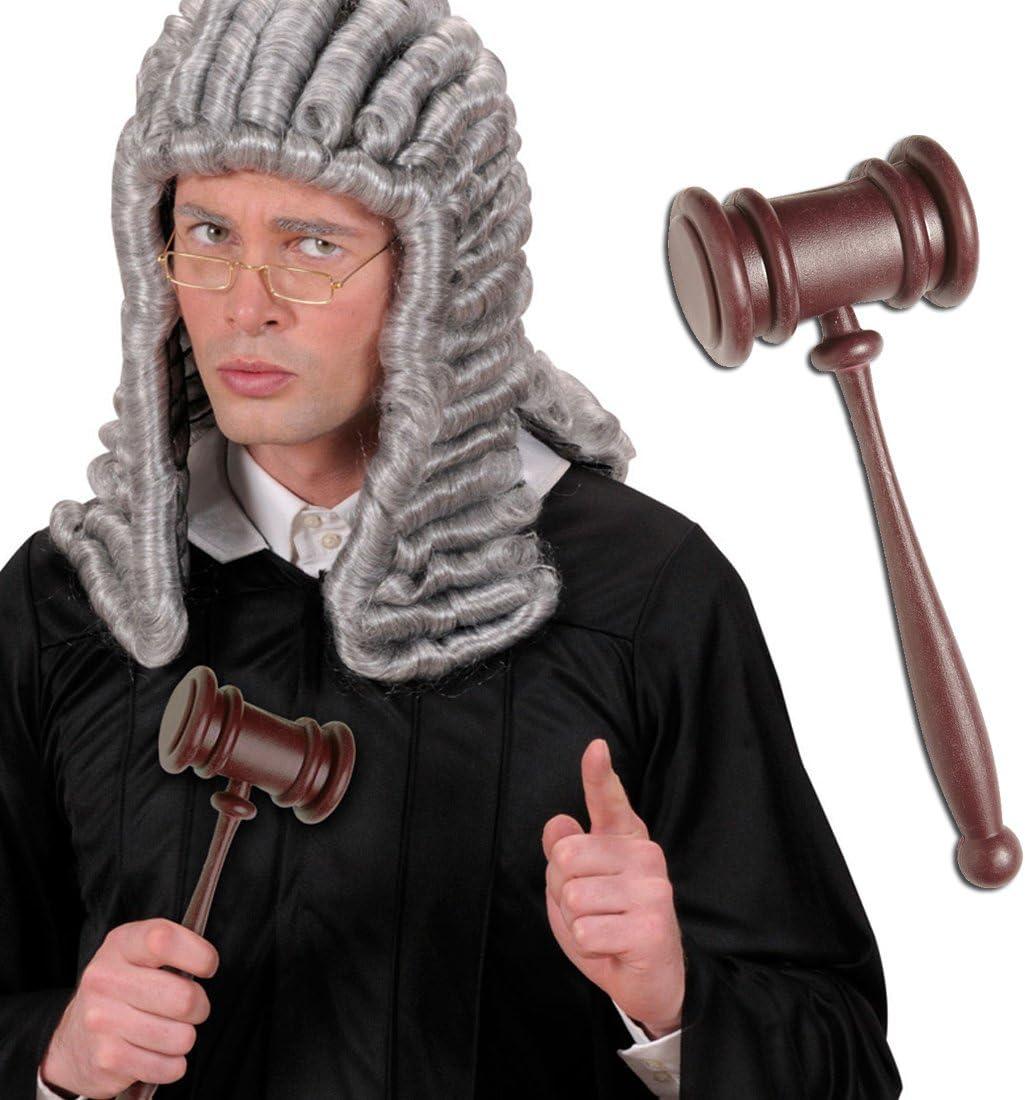 Convertidor transformador de acci/ón martillo de la subasta de corte profesor de martillo mazo para disfraz de carnaval accesorios para disfraces de abogado