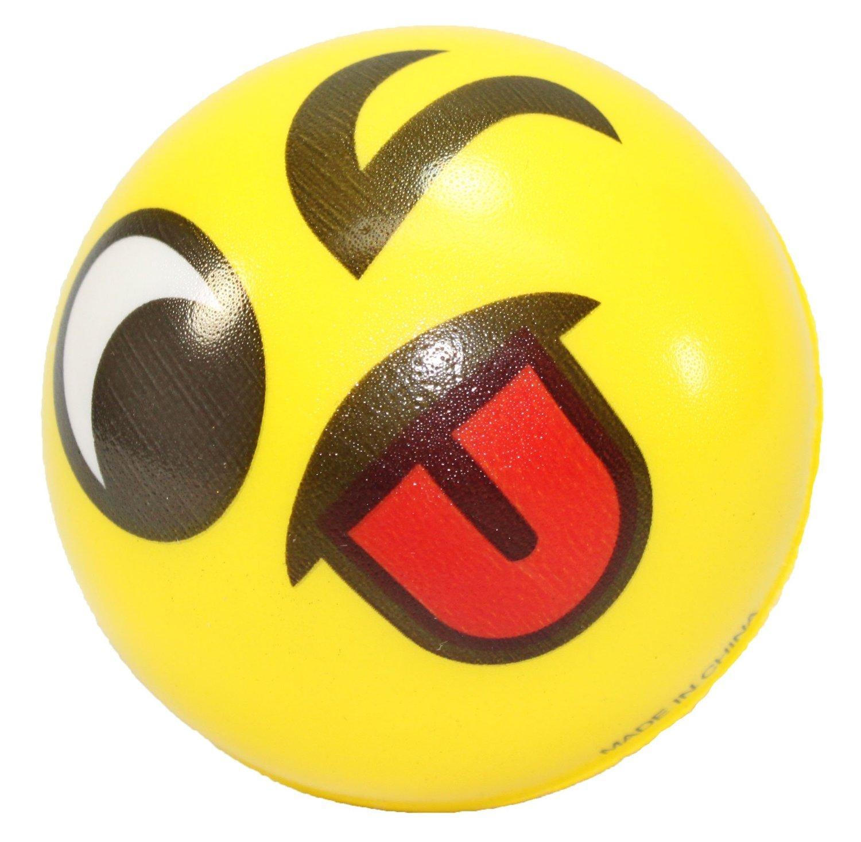 Amazon FUN Emoji Face Squeeze Balls 12 3 Stress Relax