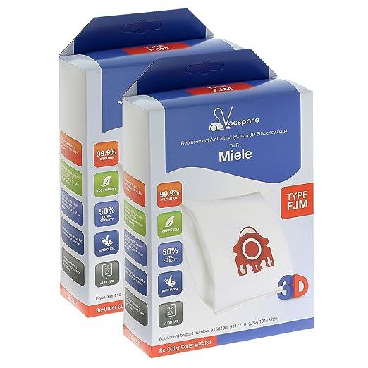 VACSPARE 3D FJM HyClean/AirClean bolsas de polvo para ...