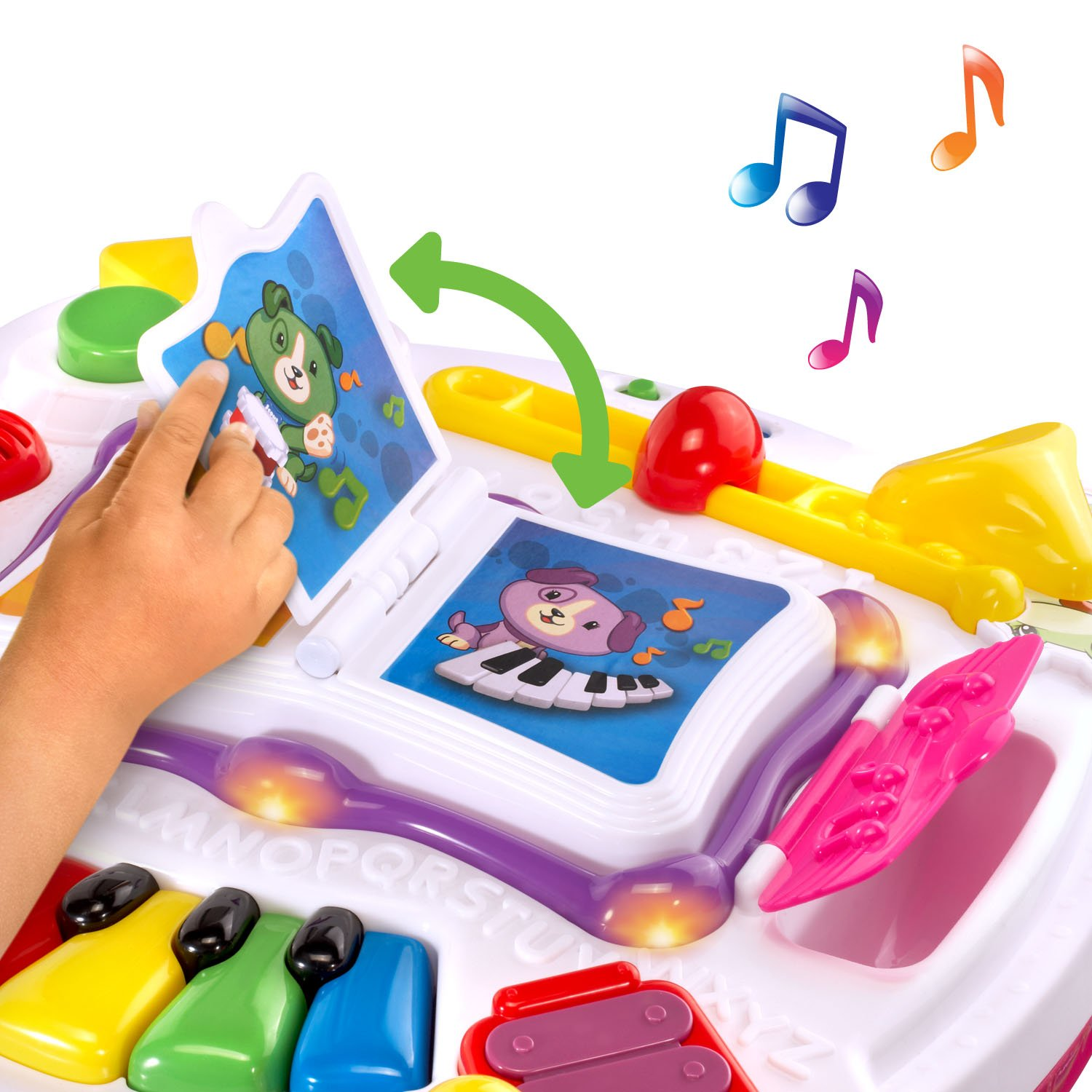 LeapFrog Learn and Groove Musical Table Activity Center Amazon Exclusive, Pink by LeapFrog (Image #3)