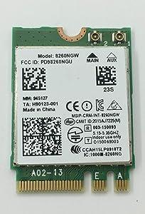 867Mbps Dual Band Wireless-AC 8260NGW WiFi Card for Dell Latitude 7275 E5270 E5450 E5570 E7270 E7470 Precision 3510 7510 M7510 08XG1T 0CNP0J 0KTTYN 5M4TC 8XG1T CNP0J 05M4TC 08XG1T 0CNP0J 8XG1T