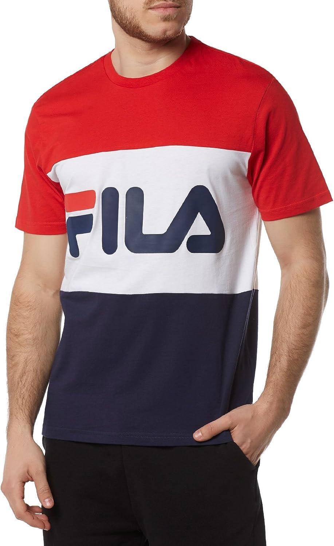 Fila - Camiseta Caballero Rojo - 180405 681244 ROJA