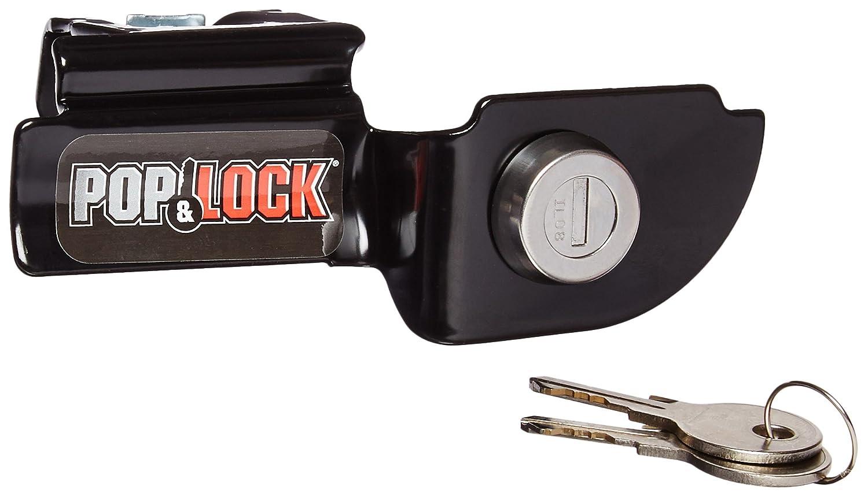 Pop /& Lock PL3600 Black Manual Tailgate Lock for Mitsubishi Raider//Dodge