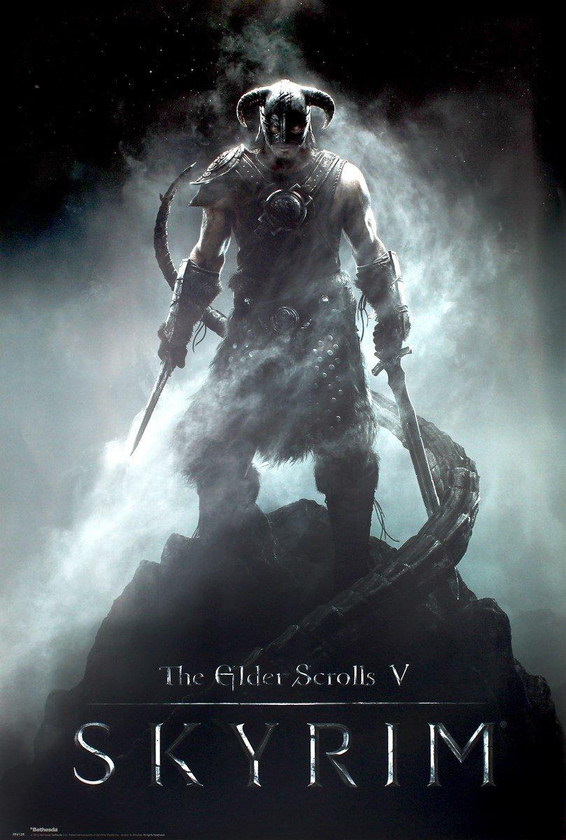 GB Eye, Skyrim Dragonborn, Maxi Poster FP4139