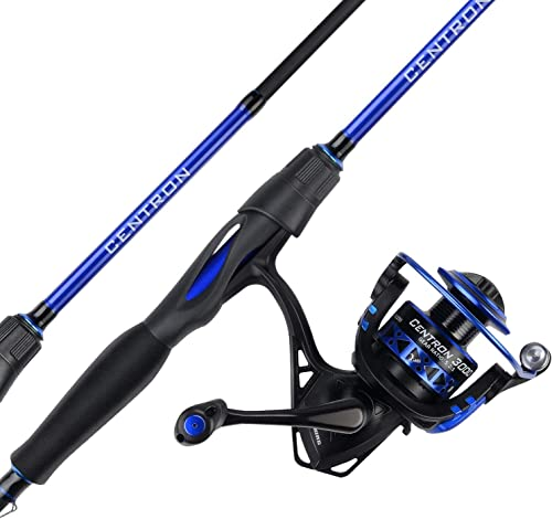 KastKing Centron Spinning Reel Fishing Rod Combos, Toray IM6 Graphite 2Pc Blanks, Stainless Steel Guides