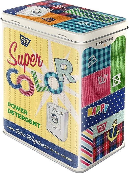 Laundry Blechdose Vorratsdose Dose Tin Box L 10x14x20 cm 3L 30117