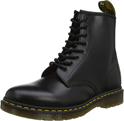 Dr. Martens Doc 20 Eye Originals Boots Made In England US M 8W 9 Black UK 7