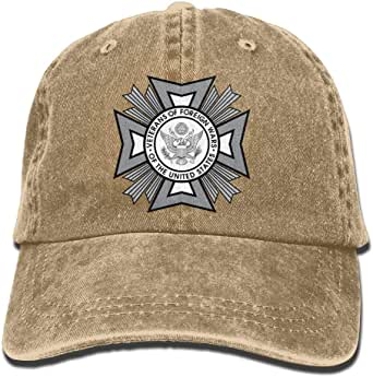 VFW Post 239 American Legion Denim Dad Cap Baseball Hat Adjustable Sun Cap