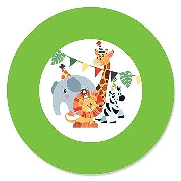 Amazon.com: Jungle Party animales – Safari Zoo Animal Fiesta ...