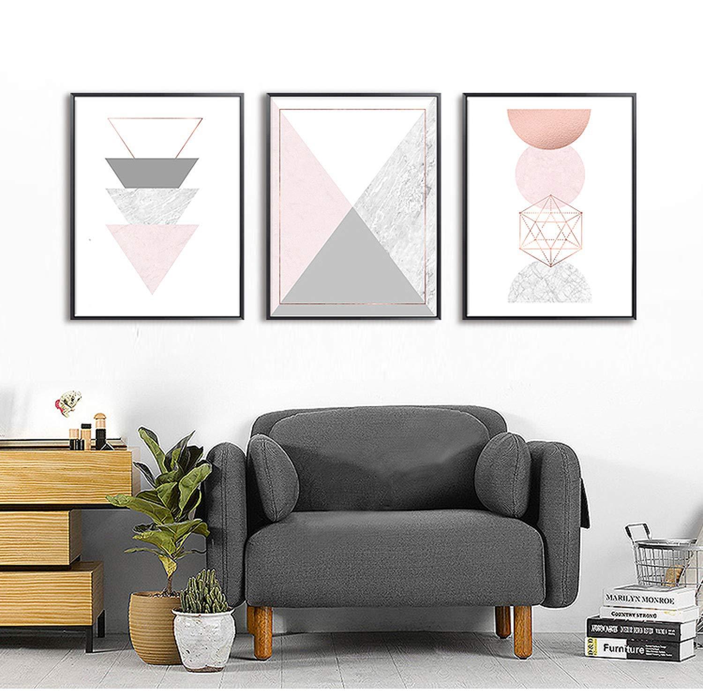 Abstract wall art home decor living room art geometry art