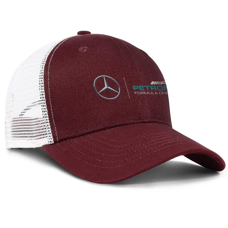 Snapback Classic Mesh Hat Cotton Baseball Cap Mercedes-Benz-Logo
