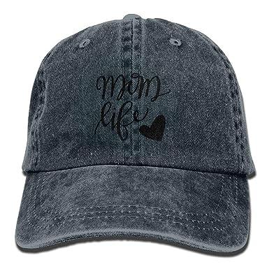 Gorra Trucker Cap Gorra béisbol Transpirable Mom Life Heart Unisex ...