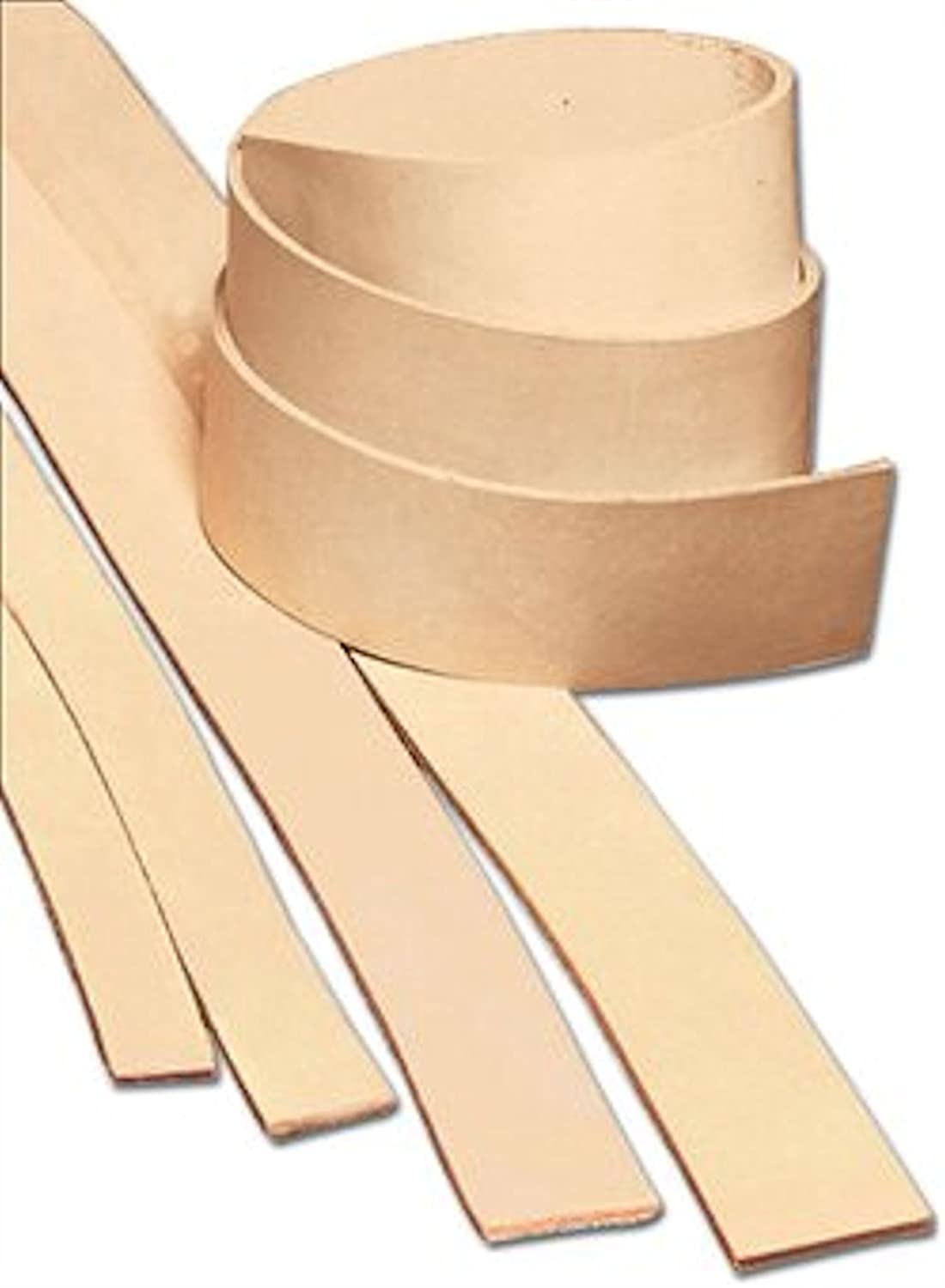 1 x 72 Heavyweight Cowhide Leather Strips by Tandy Leather B0056USPOM