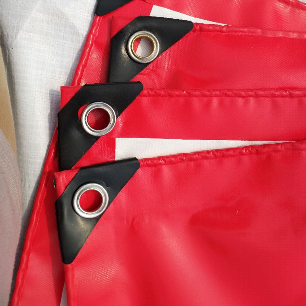 Toldo Resistente-Lona De Protección Solar, Lona Impermeabilizada FENPING (Color (Color (Color : Rojo, Tamaño : 2m3m) fdc1a4