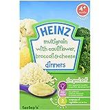 Heinz Dinners Cauliflower & Broccoli Cheese 4mth+ (125g) ハインツディナーのカリフラワーとブロッコリーのチーズ4Mth + ( 125グラム)