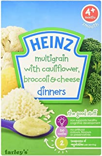 product image for Heinz Dinners Cauliflower & Broccoli Cheese 4mth+ (125g)