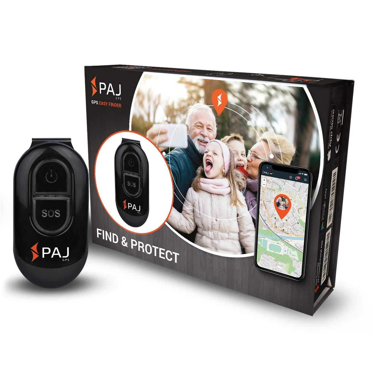 PAJ Easy Finder 2.0 - Localizador GPS - Marca Alemana - Tracker para Niños, Personas Mayores y Coches - Llavero con App product image